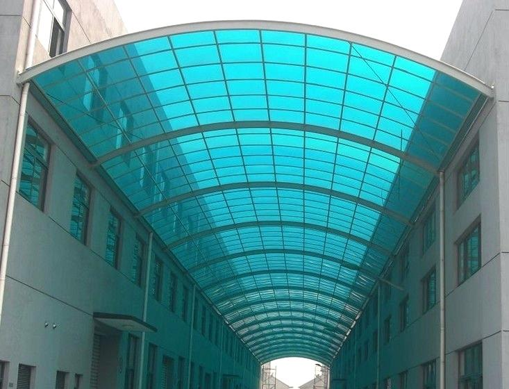 پلی کربنات طلق دوجداره صنایع شیشه و آینه فرکو