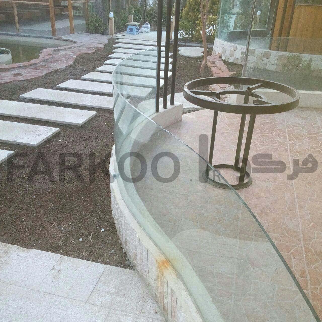 شیشه خم صنایع فرکو 09101767773