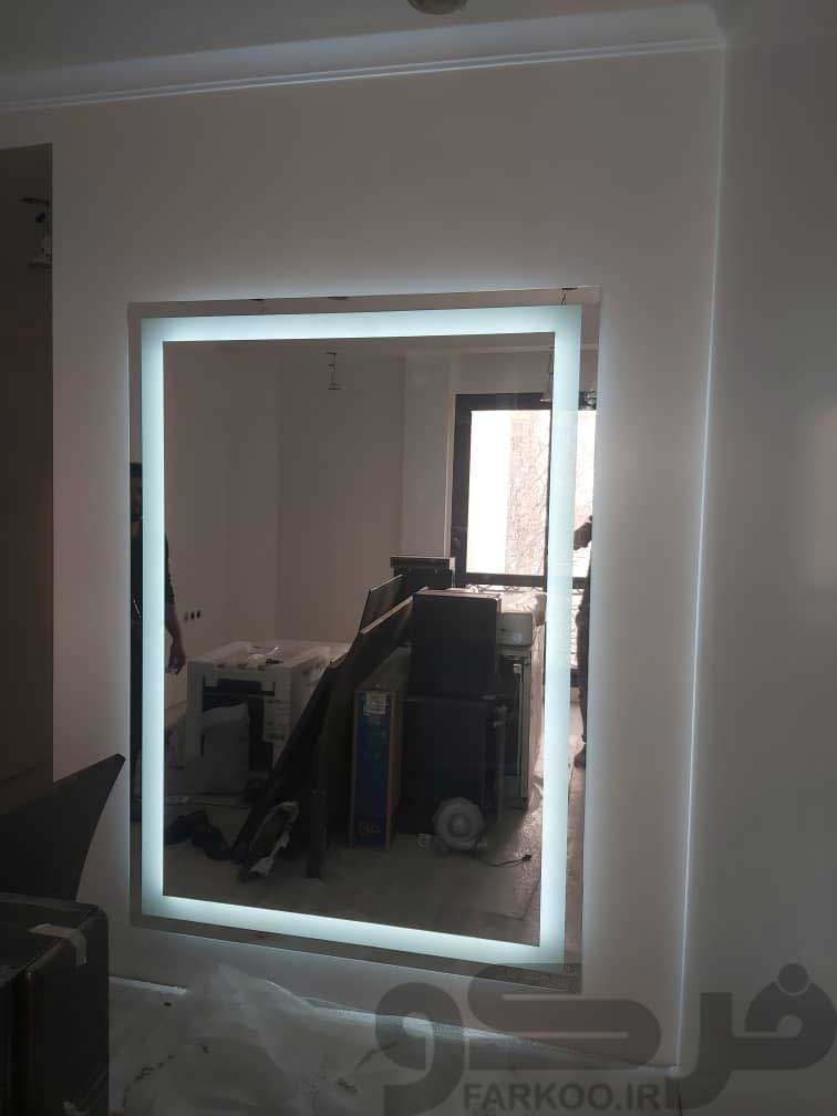 آینه هوشمند لمسی صنایع فرکو