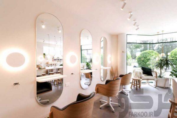 آینه آرایشگاهی